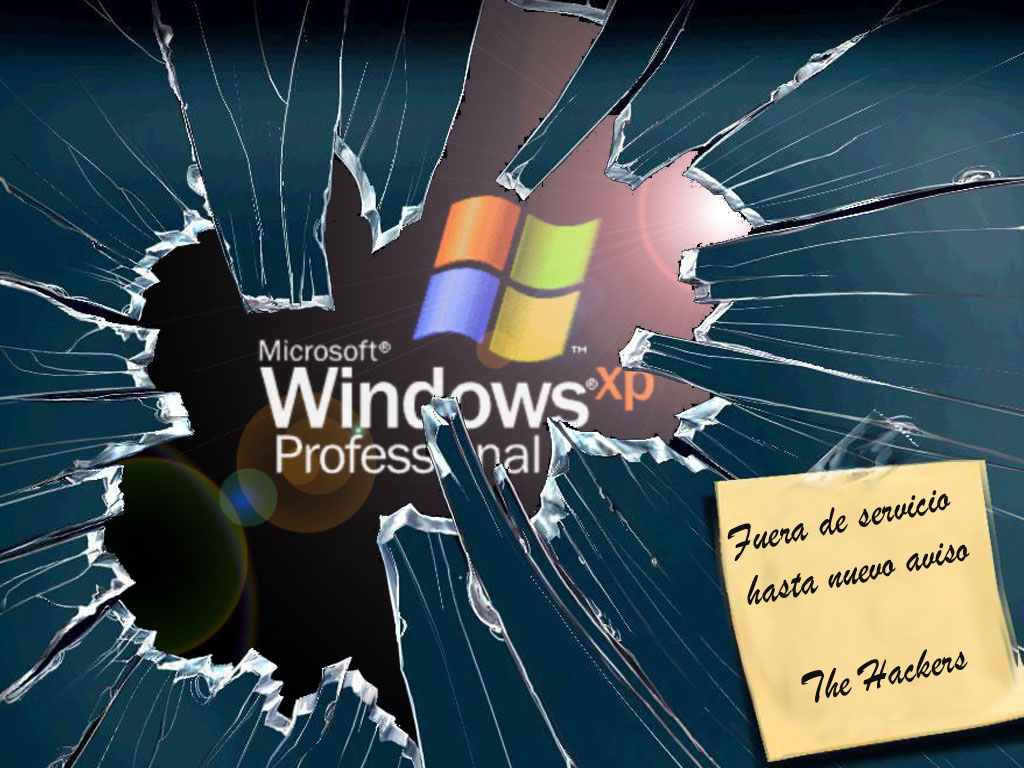 Fondo windows 7 pantalla rota 1366 por 768 imagui for Fondos de escritorio graciosos