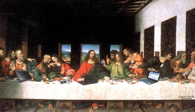 la santa cena moderna